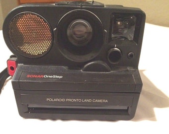 Vintage Polaroid Sonar One Step Pronto SX-70 Instant Film Camera