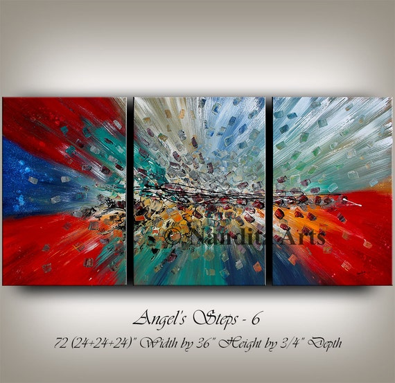 Sale large abstract paintings original by contemporaryartdaily for Original modern art for sale
