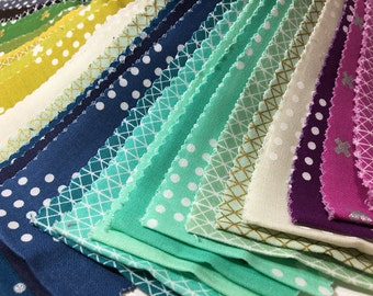 Items Similar To Easy Strip Sampler Placemats Pattern