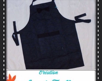 ON SALE men apron,toxedo look