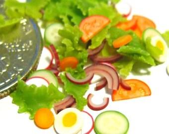 FLASH SALE Dollhouse Salad Mix 50pcs