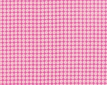 1/2 Yard - Flow - Pearls - Raspberry - Zen Chic - Brigitte Heitland - Moda - Fabric Yardage - 1595 12