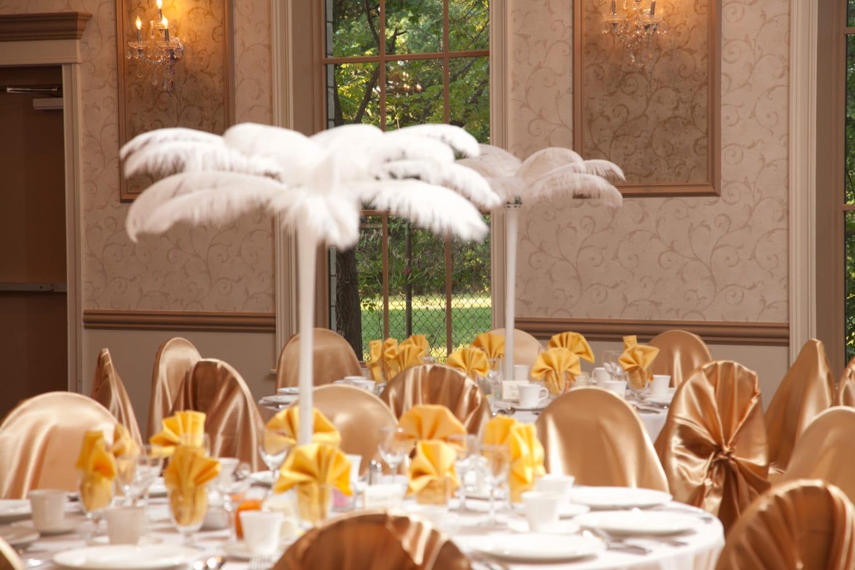 Palm tree centerpiece kit wedding shower party event