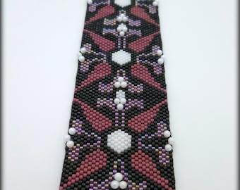 DecoBeading Beaded Bracelet. Seed Bead Bracelet. Peyote Stitch Bracelet. Cuff Bracelt. Medium Bracelet..