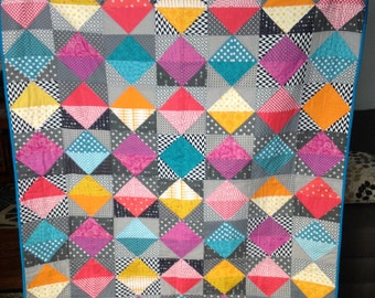 Colorful Diamond Quilt