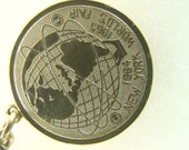 Vintage 1964 New York Worlds Fair Bracelet / Medallion