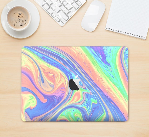 The Neon Color Fusion V13 Skin Kit for the Apple MacBook Air - Pro or Pro with Retina Display (Choose Version)