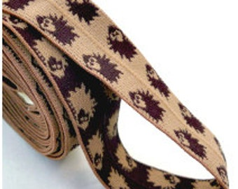 Elastics Game - Brown & Tan Hedgehog Edition - Chinese Jump Rope - Classic Toy