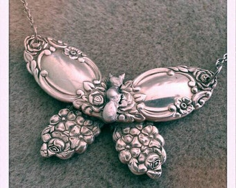 Vintage spoon Butterfly