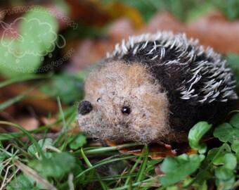 Needle felted hedgehog #3