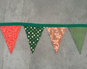 Fabric Banner - Christmas/Holiday