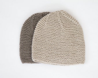 Hand Knitted Children Hats / Cotton Hats / Ready To Ship