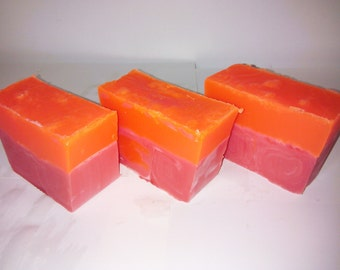 Orange Strawberry Soap