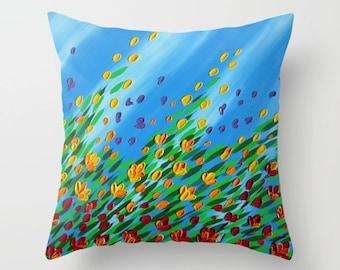 pillow case, cushion case, cushion cover, cover for cushion, covers for cushions, throw pillow case, case for throw pillow, blue pillow case