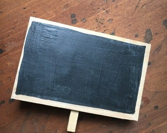 "Mini Chalkboard Signs | 10 | Wedding Chalkboard Signs | 4 x 6"" | Chalkboard Sighs | Wedding Decor"