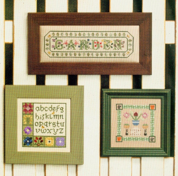 Garden samplers by elizabeth 39 s designs from for Garden designs by elizabeth