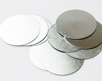 "Steel Metal Discs 1"" 25mm - 100 discs"