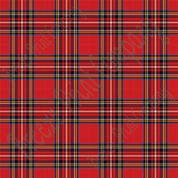 Tartan Plaid red tartan plaid heat transfer or adhesive vinyl sheet