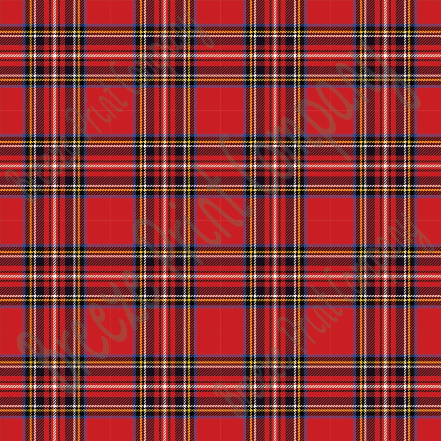 red tartan plaid heat transfer or adhesive vinyl sheet. Black Bedroom Furniture Sets. Home Design Ideas