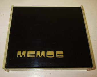 Retro Mod Memo Paper Holder Desk Accessory