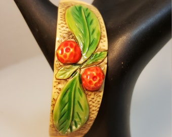 FREE  SHIPPING  Vintage Celluloid Bangle