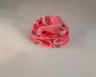 Watermelon Pink hair clip