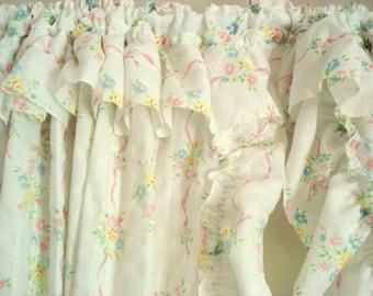 Priscilla curtains – Etsy