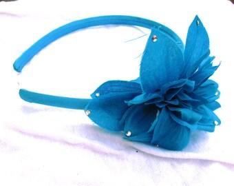 Cute Blue Sparkly Headband