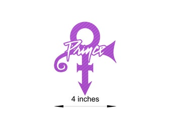 BOGO! Buy 2 get 1 FREE! Prince Love Symbol/Logo 3D Purple Carbon Fiber 3m Dinoc Sticker/Decal #60011