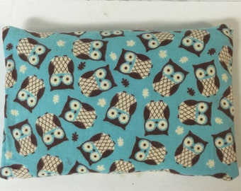 Corn Bag, Owl Heat Pack, Microwave Heat Pack, heating pad, Christmas Gift, Mother's Day Gift, Hot Cold Pack, Therapeutic heat pack