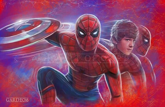 Spider-Man (Tom Holland) 11X17 Art Print