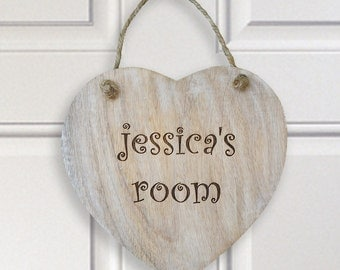 Personalised Door sign.  Childrens bedroom door sign