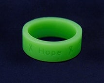 Wholesale Green Silicone Rings (100 Rings) (SILR-13)