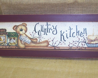COUNTRY KITCHEN PICTURE  new