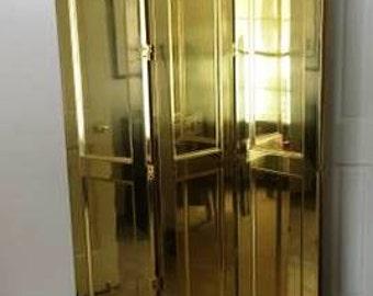 Brass Privacy Screen