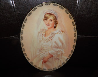 Lady Diana  Princess Di Plate - Bradford Exchange- The People's Princess- First Issue