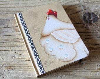 handpainted notebook