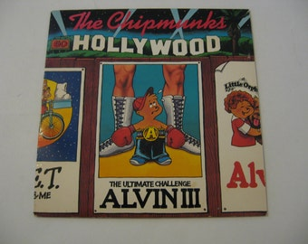 The Chipmunks - Go Hollywood - 1982