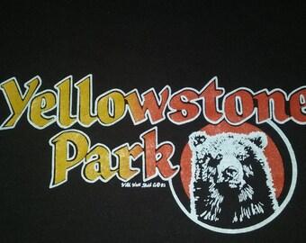 Vintage Yellowstone Park T-Shirt 80s
