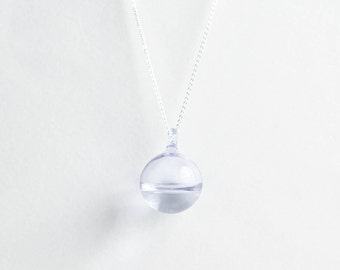 Pastel droplet necklace