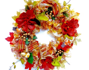 Fall Maple Wreath