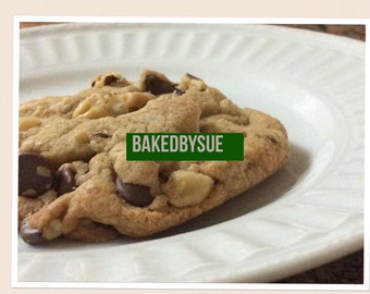 Chocolate chip cookies -  8 pieces or more