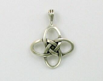Sterling Silver Celtic Love Knot Pendant