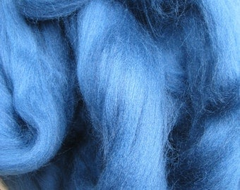 SALE Merino Wool Roving/top 64's 23 Micron. MARINE For Spinning,Wet or Needle Felting, Craft Work.