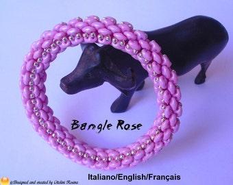 Tutorial Bangle Rose (In -en Italian/English/Français)
