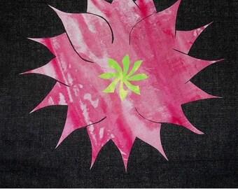 Spring Flower Quilting Applique Pattern Design PDF