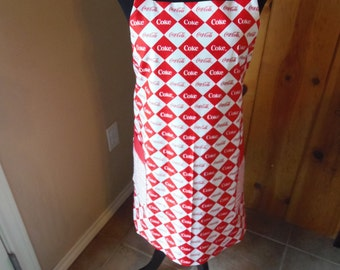 Coke a Cola Reversible Apron