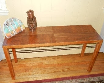 Lane Sofa Table, MCM Lane Console Table, MCM Console Sofa Table, Danish  Modern