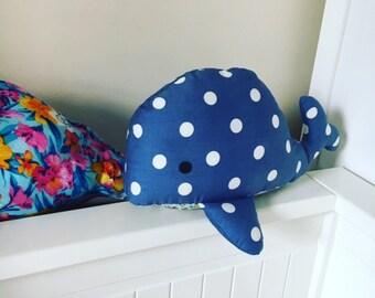hand made whale
