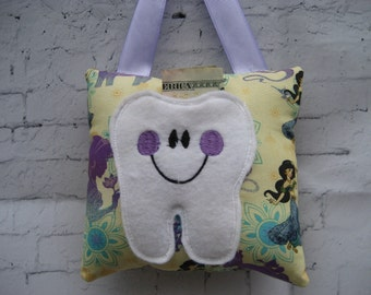 Tooth Fairy Pillow-Party Favor-Princess-Girls Tooth Pillow-Fairy Dust-Tooth Fairy Certificate-Tooth Pillow-Party Pack